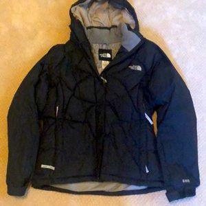 North Face snow jacket navy medium